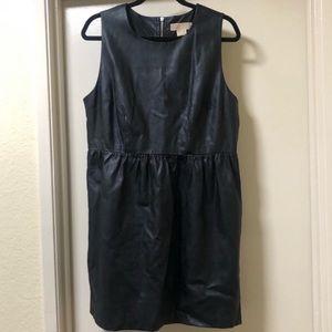Michael Kors Faux Leather Dress